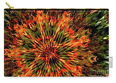 Carry-all Pouch featuring the photograph Kaleidoscope 1 by Jean Bernard Roussilhe