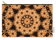 Carry-all Pouch featuring the digital art Kaleidoscope 131 by Ron Bissett
