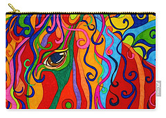 Kaleidoscope Eyes 2016 Carry-all Pouch by Alison Caltrider