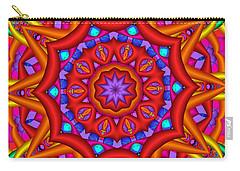 Kaleidoscope Flower 02 Carry-all Pouch