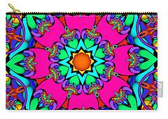 Kaleidoscope Flower 03 Carry-all Pouch
