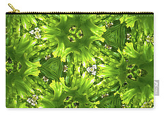Kaleidoscope Flower Carry-all Pouch