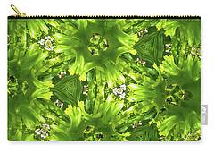 Kaleidoscope Flower Carry-all Pouch by Julia Wilcox