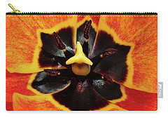 Kaleidoscopic Floral Carry-all Pouch