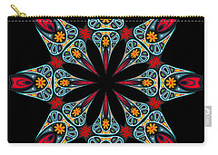 Carry-all Pouch featuring the digital art Kali Kato - 06a by Aimelle