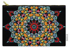 Carry-all Pouch featuring the digital art Kali Kato - 12 by Aimelle
