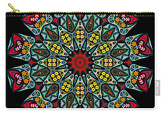 Carry-all Pouch featuring the digital art Kali Katp - 10 by Aimelle