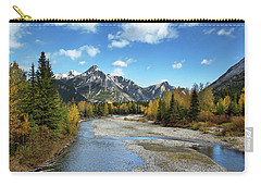 Kananaskis River In Fall Carry-all Pouch