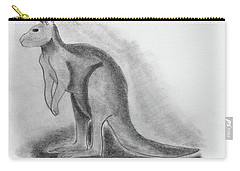 Kangaroo Drawing Carry-all Pouch