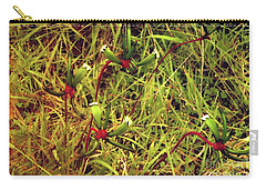 Carry-all Pouch featuring the photograph Kangaroo Paw Vi by Cassandra Buckley