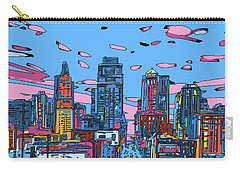 Kansas City Skyline Panorama 4 Carry-all Pouch