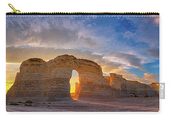 Carry-all Pouch featuring the photograph Kansas Gold by Darren White