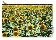 Kansas Sunflower Field Carry-all Pouch