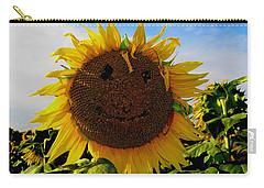 Kansas Sunflower Carry-all Pouch