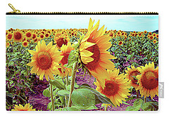 Kansas Sunflowers Carry-all Pouch