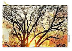 Kansas Sunset Carry-all Pouch