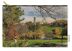 Carry-all Pouch featuring the photograph Kansas University by Joan Bertucci