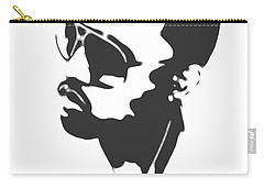 Kanye West Silhouette Carry-all Pouch by Dan Sproul