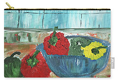 Karens Blue Vase Carry-all Pouch