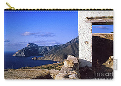 Carry-all Pouch featuring the photograph Karpathos Island Greece by Silvia Ganora