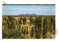 Carry-all Pouch featuring the photograph Kata Tjuta 01 by Werner Padarin