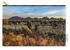 Carry-all Pouch featuring the photograph Kata Tjuta 02 by Werner Padarin