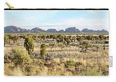 Carry-all Pouch featuring the photograph Kata Tjuta 03 by Werner Padarin