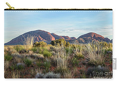 Carry-all Pouch featuring the photograph Kata Tjuta 04 by Werner Padarin
