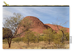 Carry-all Pouch featuring the photograph Kata Tjuta 05 by Werner Padarin