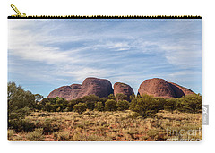 Carry-all Pouch featuring the photograph Kata Tjuta 06 by Werner Padarin