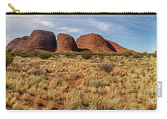 Carry-all Pouch featuring the photograph Kata Tjuta 10 by Werner Padarin