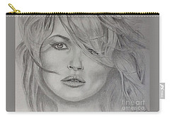 Kate Moss Fashion Model Carry-all Pouch
