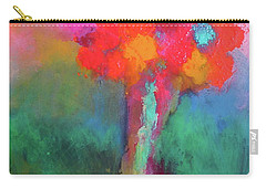 Katie's Beautiful Flowers. Painting. Carry-all Pouch