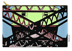Katy Trail Bridge Carry-all Pouch
