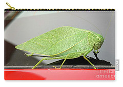 Carry-all Pouch featuring the photograph Katydids- Bush Crickets by Ricky L Jones