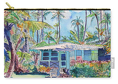 Kauai Blue Cottage 2 Carry-all Pouch