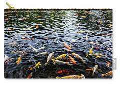 Kauai Koi Pond Carry-all Pouch by Darcy Michaelchuk