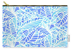 Kaua'i Ocean Leaves Carry-all Pouch
