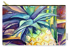 Kauai Pineapple 4 Carry-all Pouch