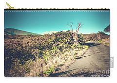 Kaupo Other Road To Hana Sunset Piilani Highway Maui Hawaii Carry-all Pouch by Sharon Mau