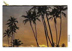 Kawaikui Sunset 4 Carry-all Pouch by Leigh Anne Meeks
