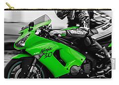 Kawasaki Ninja Zx-6r Carry-all Pouch by Andrea Mazzocchetti