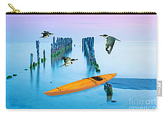Kayak And Kingfishers Carry-all Pouch