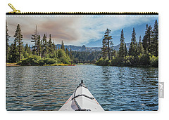 Kayak Views Carry-all Pouch by Alpha Wanderlust
