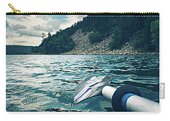 Kayaking At Devils Lake Carry-all Pouch