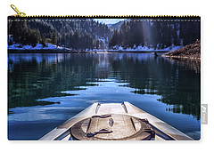 Kayaking In Mccloud Carry-all Pouch