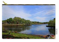Kayaking The Cotee River Carry-all Pouch