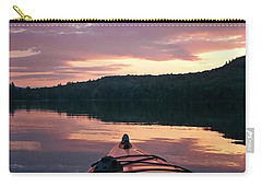 Kayaking Under A Gorgeous Sundown Sky On Concord Pond Carry-all Pouch