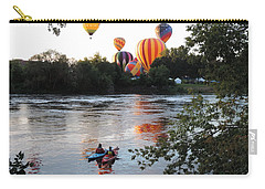 Kayaks And Balloons Carry-all Pouch