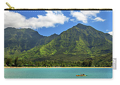 Kayaks In Hanalei Bay Carry-all Pouch